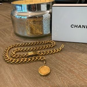 CHANEL 24k FLASH GOLD BELT/NECKLACE/BRACELET